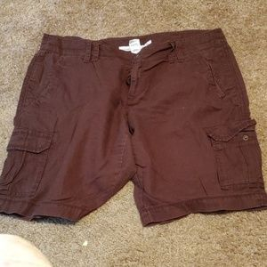 Old Navy cargo shorts size 14